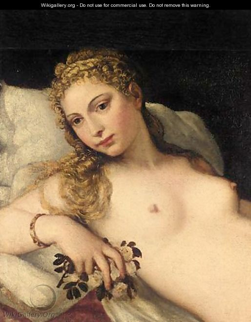 The Venus Of Urbino - (after) Tiziano Vecellio (Titian)