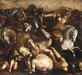 A Battle With Amazons - (after) Antonio Tempesta