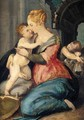 The Madonna And Child With Saint John The Baptist - (after) Giorgio Vasari