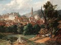 View Of Baden Baden - Jacques Guiaud