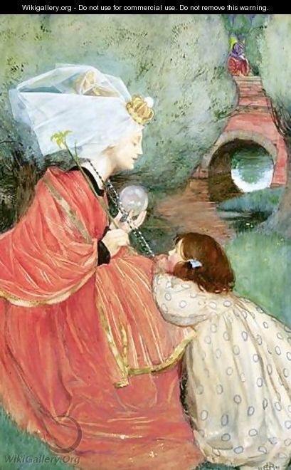 Today For Me - Eleanor Fortescue-Brickdale