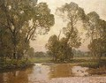 River Landscape - Sir Alfred East