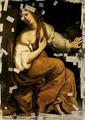 The Conversion Of The Magdalene - (after) Artemisia Gentileschi