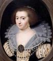Portrait Of A Noblewoman, Said To Be Amalia Van Solms - (after) Anthony Van Ravesteyn