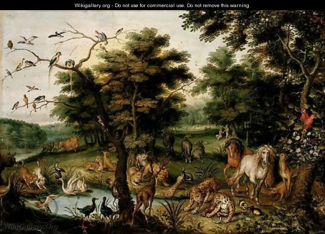 The Earthly Paradise - Jan, the Younger Brueghel
