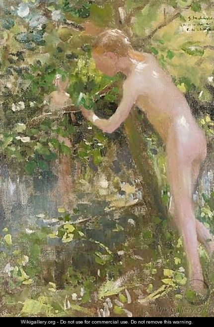 The Bather - Gari Julius Melchers