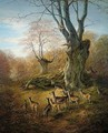 Deer In The New Forest - William Snr Luker