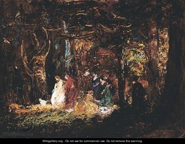 Picnic In The Forest - Thomas E. Mostyn