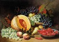 Still Life Of Fruit And Chillies - Eloise Harriet Stannard