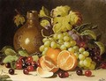 Still Life With Oranges And Jug - Charles Thomas Bale