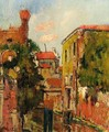 The Old Arsenal In Venice - George Leslie Hunter