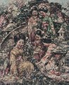 Young Japanese Girls Gathering Flowers - Edward Atkinson Hornel