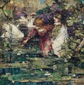 The Swan Lake - Edward Atkinson Hornel