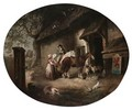 At The Alehouse Door - (after) George Morland