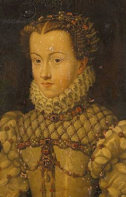 Portrait Of An Elizabethan Lady - English School