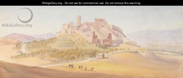 View Of The Acropolis - English School