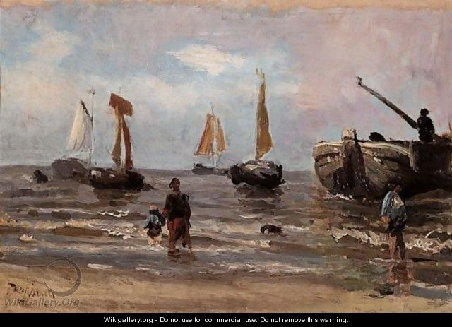 The Return Of The Fisherboats - Jozef Israels