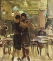 At The Scala Cafe, The Hague - Isaac Israels