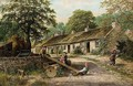 See-Saw, The Old Cottage Homes, Lamlash, Arran - Albert Dunington