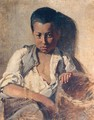 Portrait Of A Boy - Pericles Pantazis