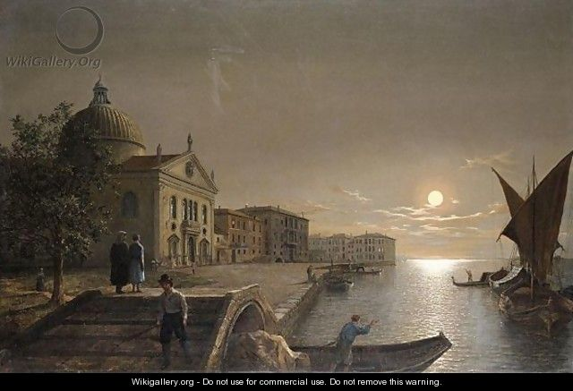 Moonlight In Venice 2 - Henry Pether