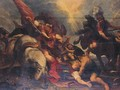 The Conversion Of St Paul - (after) Sir Peter Paul Rubens