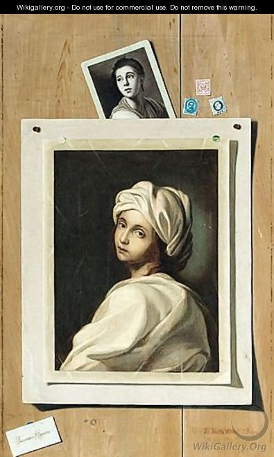 A Portrait Of Beatrice Cenci - Francesco Alegiani