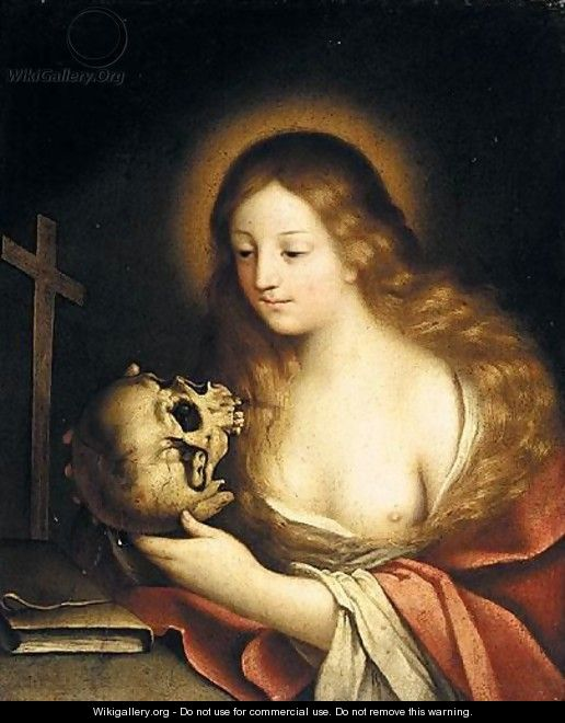 The Penitent Magdalene - (after) Carlo Francesco Nuvolone