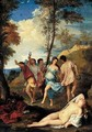 The Bacchanal Of The Andrians - (after) Tiziano Vecellio (Titian)