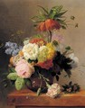 Still-Life With Assorted Flowers - Arnoldus Bloemers