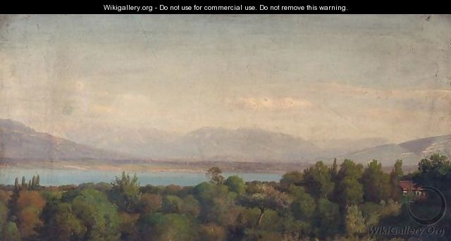 View Of A Lake - French School