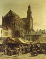 Market Day In Antwerp - Jacques Carabain