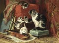 Playing Time - Henriette Ronner-Knip