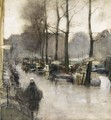A View Of The Veerkade, The Hague - Floris Arntzenius