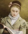 Attentive Reading - Gustave Jean Jacquet