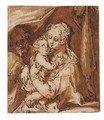 The Holy Family - Hendrick Goltzius