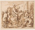 Three Depictions Of Christ's Entry Into Jerusalem - Jan Luyken