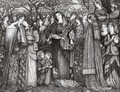 Kings' Daughters - Sir Edward Coley Burne-Jones