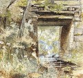 A Bridge Over A Stream - (after) Samuel Palmer