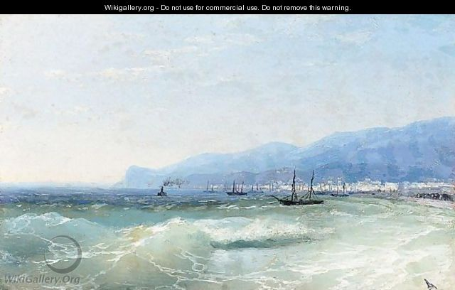 View Of Feodosia, 26th September 1897 - Ivan Konstantinovich Aivazovsky