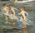 Ninos En La Playa (Children On The Beach) - Joaquin Sorolla y Bastida