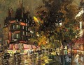 Paris By Night 9 - Konstantin Alexeievitch Korovin