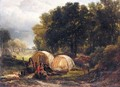 The Gypsy Encampment - Henry Brittan Willis, R.W.S.