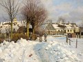 A Winter Landscape - Peder Monsted
