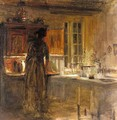 Woman In An Interior 2 - Carl Vilhelm Holsoe