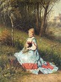 Picking Flowers - James E.maxfield