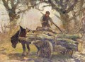 The Wood Cart - George Smith