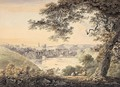 View Of Totnes, Devon, Taken From The Banks Of The River Dart About A Mile Below The Town - William Payne