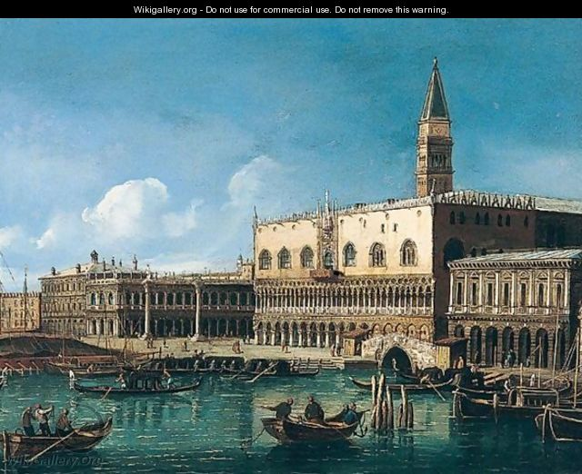 Grand canal - (after) (Giovanni Antonio Canal) Canaletto