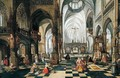 Interior of a church - (after) Abel Grimmer